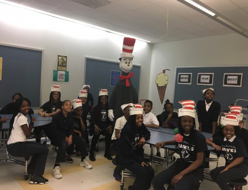 March – The Cat In the Hat Visits the Hawks!