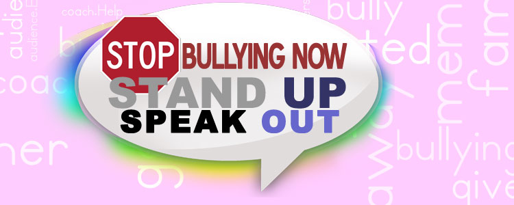 Stop Bullying Now Stand Up Speak Out