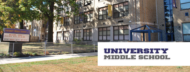 UNIVERSITY MIDDLE SCHOOL - CLICK BELOW TO SCHEDULE DATE & TIME