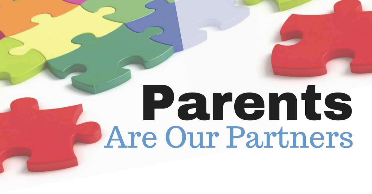 Parents Are Our Partners