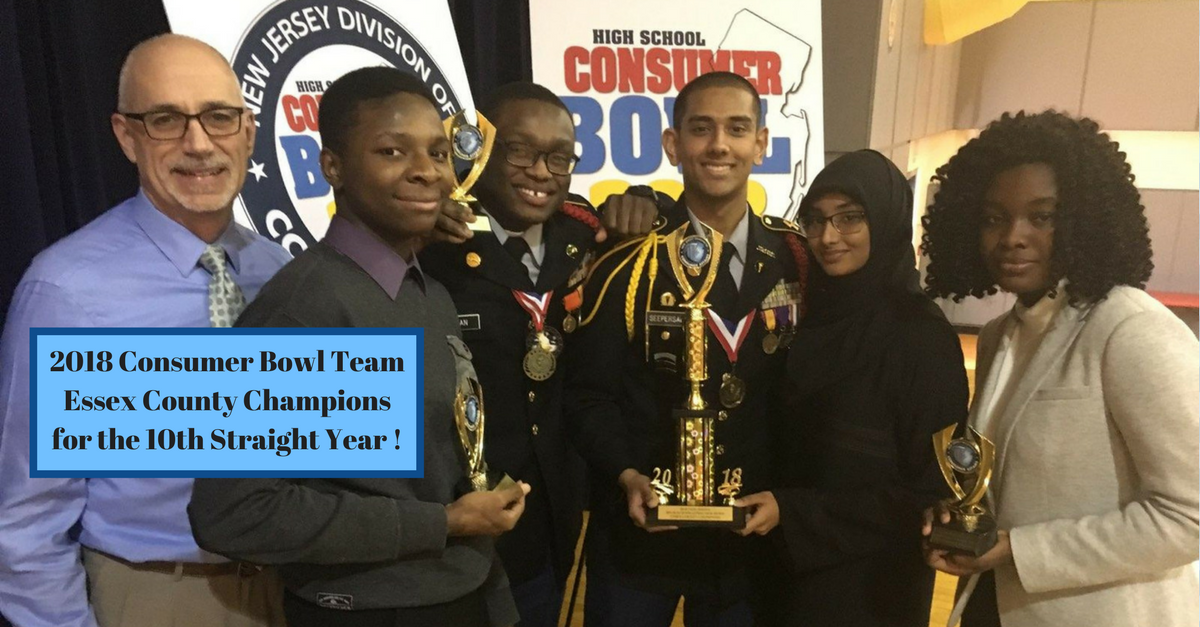 2018 Consumer Bowl Team Essex County Champions for the 10th Straight Year!