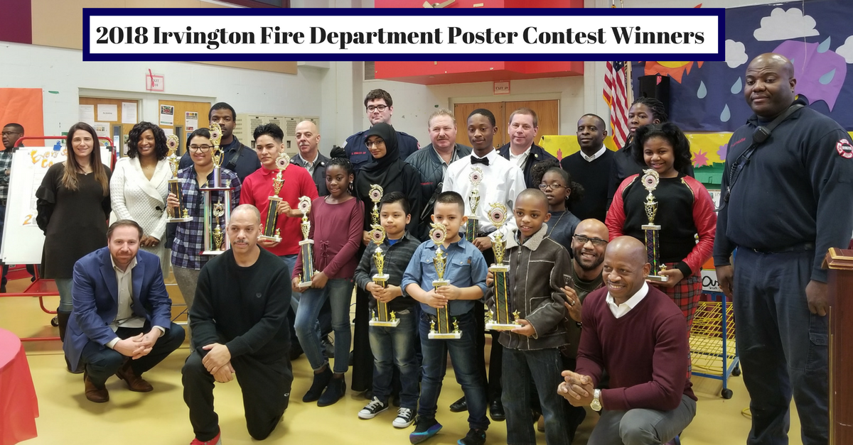 Picture of the 2018 Fire Department Contest Winners