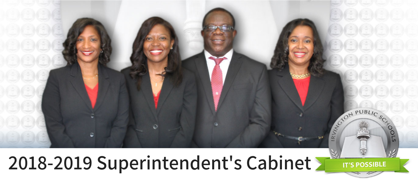 Image of the four members of the Superintendent's Cabinet