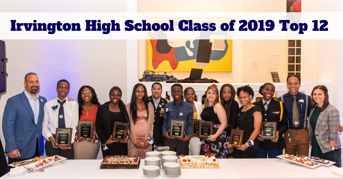 Irvington High School Class of 2019 Top 12