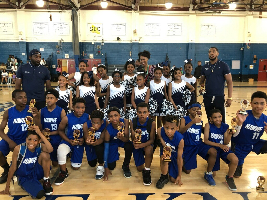 University Elementary basketball championship picture