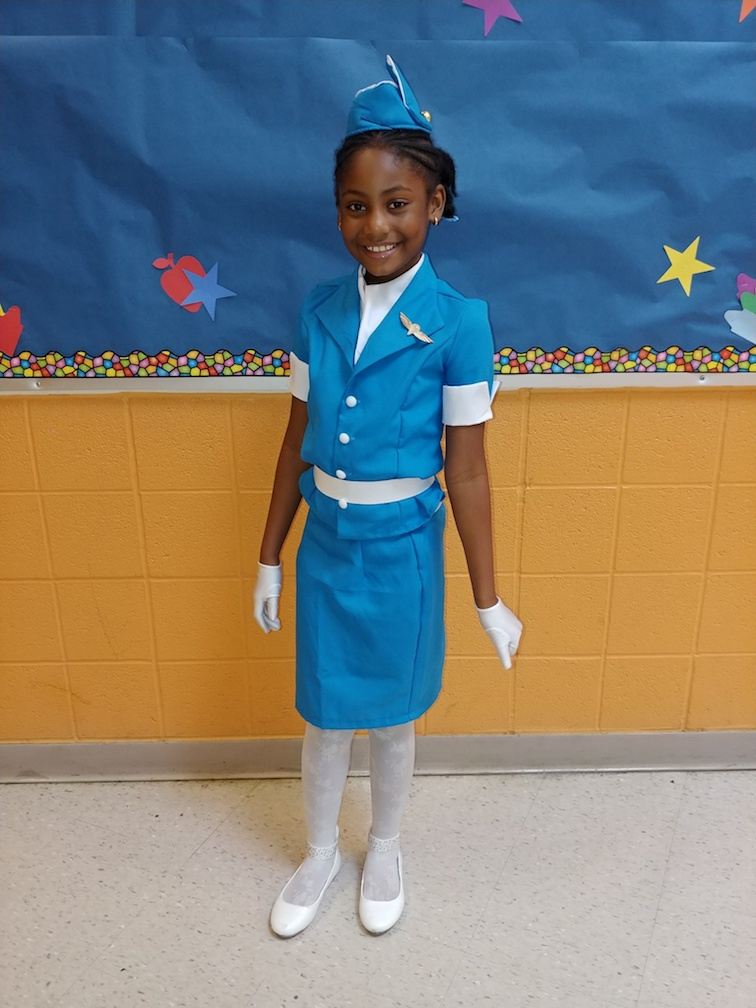 Future Airline Stewardess