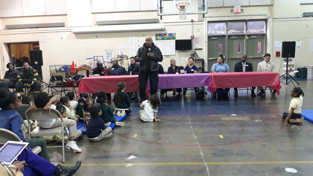 Career Day at Florence Avenue School February 2020