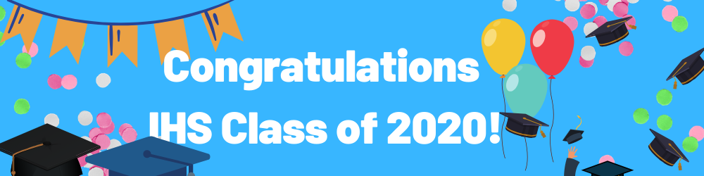 Congratulations! Class of 2020 From the Irvington Public Schools