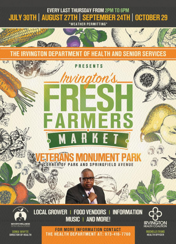Irvington Farmers Market Flyer