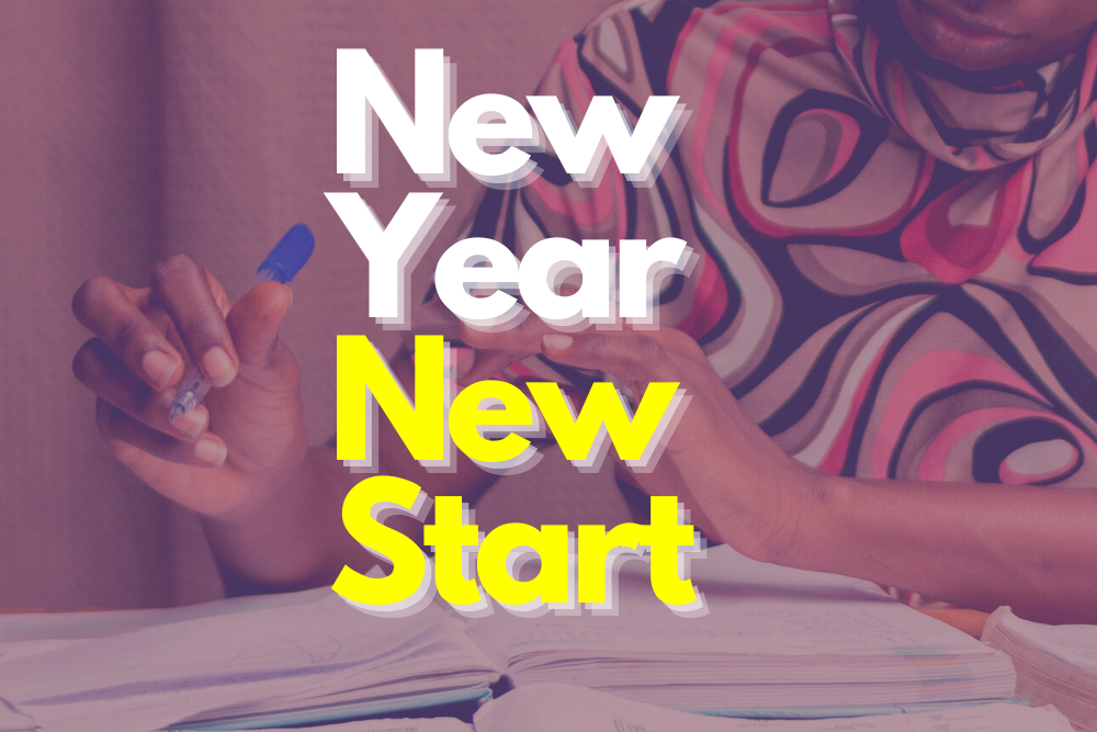 New Year New Start - COVER