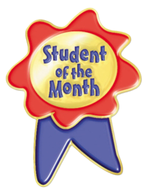 Student of the month - Pict